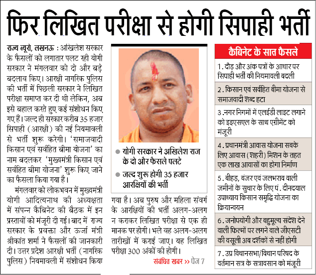 up police vacancy latest news in hindi