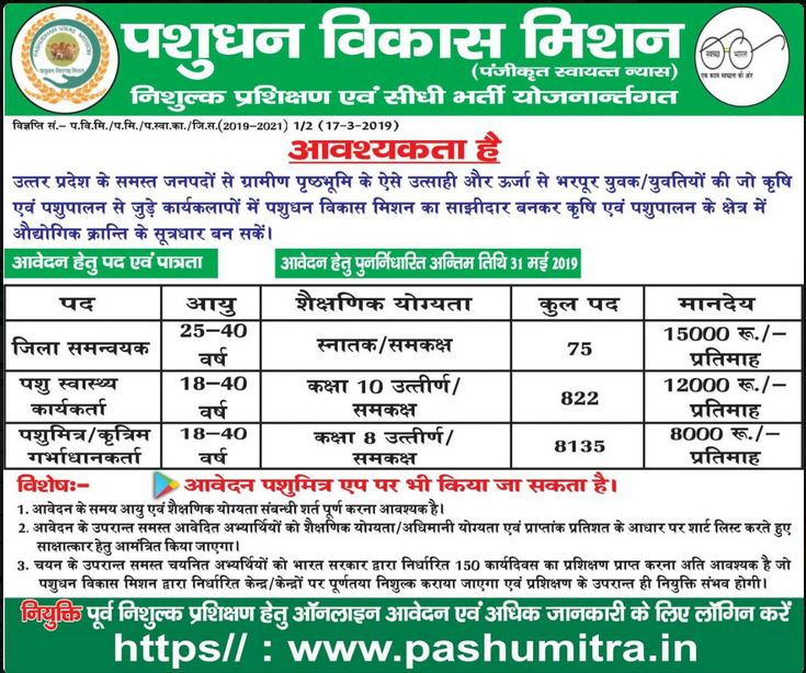 "UP Pashumitra Bharti 2019 (UPCUMOTER RECRUITMENT 2019) ""width ="" 735 ""height ="" 614 ""/></p></noscript><p>[1 945 9 002] Applicants who have completed the above eligibility, these candidates can easily apply in this veterinary job. Please refer to this page regularly for changes in animal friend space 2019. See the official website for more information on this veterinary job notification.</p><aside id="
